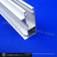 Aluminium Bottom Curtain Blind Track Powder Coated White