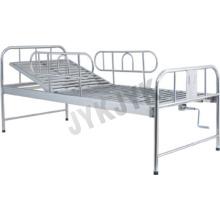 Нержавеющая сталь Одна функция Больничная кровать