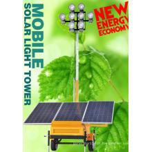 Torre de luz solar móvel (DE450Q4B)