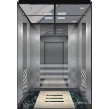 Espejo grabado de acero inoxidable ascensor de pasajeros de China fabricante