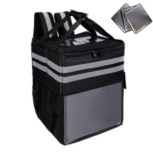 Hot Sell Warmer Bag Food Delivery Thermal Bag Backpack Insulated Pizza Delivery Bag With Detachable Boards