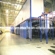 Industrial Powder Coating System with Curing Oven