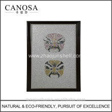 CANOSA Chinese fresh water shell opera characters wall Picture