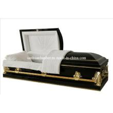 20 Ga connaisse acier cercueil & cercueil de produits Funaral (HLC #002)