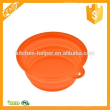 BPA Free Food Grade Silicone Foldable Bowl