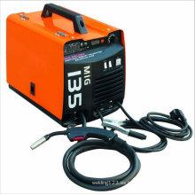 Máquina de soldadura Gas MIG MAG del gas del estilo del transformador MIG150