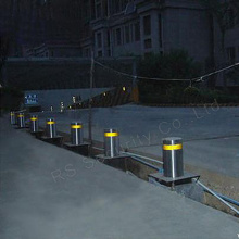 Strong and Durable Steel Pipe Traffic Bollards