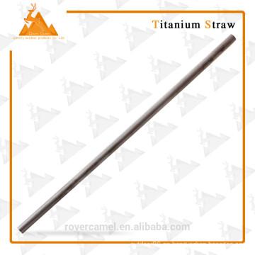 Mejor grado práctico titanio pajita