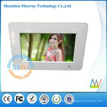 cadre photo numérique 7 pouces avec fonctions de lecture MP3 musique vidéo photo