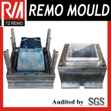 Square Flower Pot Plastic Injection Mould