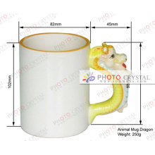 Caneca animal caneca do presente caneca do copo sublimation