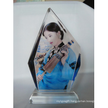 New Arrival Photo Pringting Crystal Portrait Frame