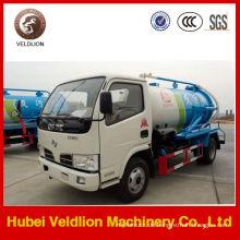 Dongfeng Mini 2000L Vakuumpumpe Abwassertankwagen