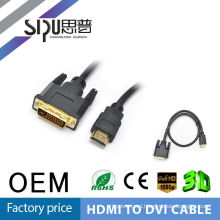SIPU db9 cable to dvi cable dvi extender dvi to av cable