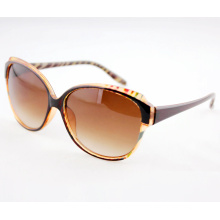 Gafas de sol de las señoras de la promoción de la manera con los marcos grandes de la lente (14203)