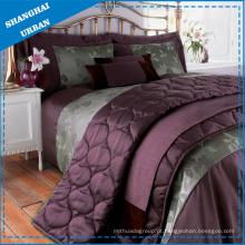 Jogo da edredão do poliéster 3PCS & roupa de cama do cobertor