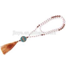 Fashion Bohemian Beaded Tassel Necklace Jewelry Boho Necklace