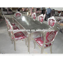 1+8 chair Classical Dining table and chair D1040