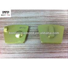 Disco de PCD agresivo para la eliminación de epoxi, pegamento y molienda de concreto