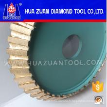 Roue de profil de diamant de 200mm pour la pierre