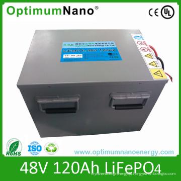Bateria de íon de lítio 48V 120ah para armazenamento de energia