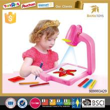 3in1 brinquedo educativo da pintura do projetor
