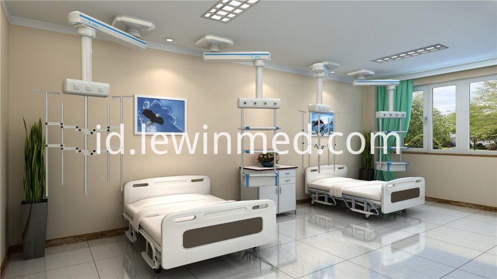 Medical pendant for hospital