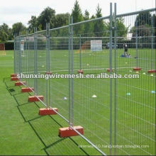 PVC coated temporary pool fencing(factory)