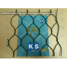 Welded Wire Fabric Woven Wire Mesh Fence Galvanized Hexagonal Wire Netting
