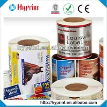 Die Cut Pressure Sensitive Sticker Label