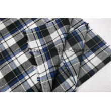 2016 Fashion Check Design Vente en gros Tissu teint en fil