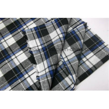 2016 Fashion Check Design Оптовые нити окрашенные ткани
