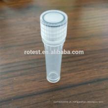 Tubo criotico de 1,8 ml / 2 ml autoportante
