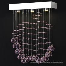 accrochant la lumière de thé lustre décoratif pendentif s'allume