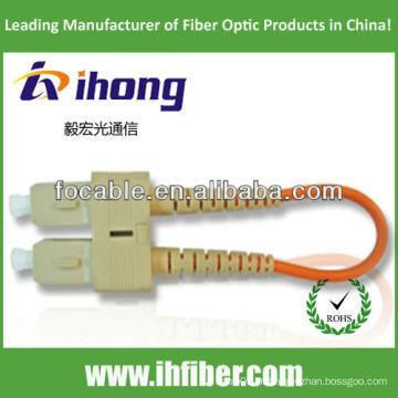 SC MM fibra óptica loopback