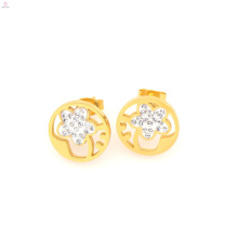 New arrival stainless steel gold earring studs,texas stud earring jewelry