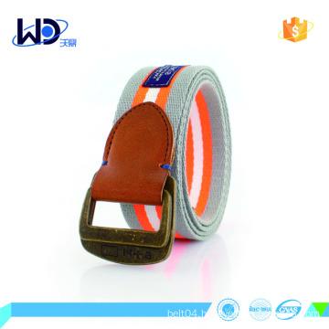 polyester webbing belt canvas for unisex