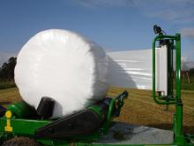 750mm*1500m Best White Silage Film for USA