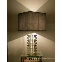 Lámpara de mesa moderna de cristal (8204)
