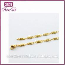 Nuevo oro de hadas de los collares de la manera 2015 de la manera