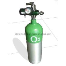 2.5L Medical Aluminum Alloy Oxygen Cylinder Set