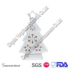 Керамическая декоративная новогодняя елка