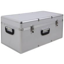 Aluminium Batterie Messer Festplattenlaufwerk Aufbewahrungskoffer mit Schloss und Griff