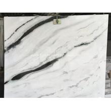 Panda White Marble Stone with Black Veins