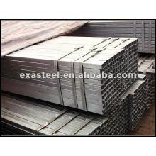Seção oca quadrada de aço galvanizado para pés de mesa