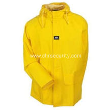 Men's Yellow Waterproof Mandal Rain Jacket