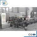CE PP/ABS/PA Plastic Twin Screw Extruder Pelletizing Line