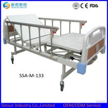 China Origin Manual Três manivela cama de hospital