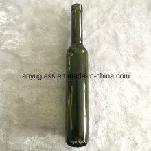 Wholesale 375ml Dark Green Glass Ice Wine Bottles