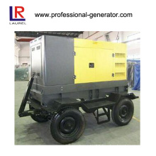 Mobile Diesel Generator with 4 Wheel Move